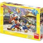 Puzzle Mickey si prietenii la terasa 24 piese
