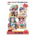 Puzzle 4 in 1 Minnie si Daisy in vacanta 54 piese