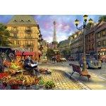 Puzzle Anatolian Paris Street Life 1500 piese