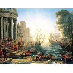 Puzzle Anatolian Seaport with the Embarkation of St. Ursula 3000 piese