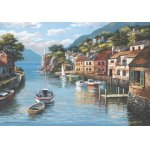 Puzzle Anatolian Village On The Water 500 piese