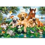 Puzzle Castorland Summer Pals 500 piese