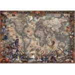 Puzzle Educa Antique World Map 2.000 piese