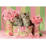 Puzzle Educa Kittens With Roses 500 piese