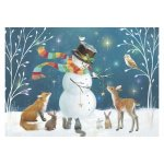 Puzzle Educa Snowman And His Friends 500 piese