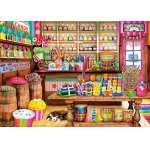 Puzzle Educa The Candy Shop 1000 piese include lipici puzzle