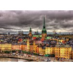 Puzzle Educa Views of Stockholm Sweden 1000 piese include lipici puzzle