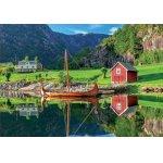 Puzzle Educa Viking Boat 1500 piese include lipici