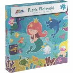 Puzzle Sirene jucause 96 piese