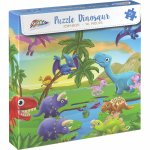 Puzzle cu dinozauri 96 piese