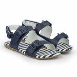 Sandale fete Bibi Baby Birk Mini naval 24 EU