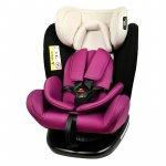 Scaun auto Tweety Mandara Purple cu isofix rotativ 360 grade 0-36 kg baza neagra