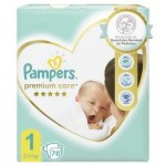 Scutece Pampers Premium Care New baby  Nou nascut  78 buc