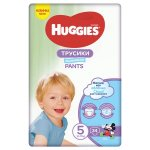 Scutece-chilotel Huggies Pants Jumbo Pack nr 5 Boy 12-17 kg 34 buc