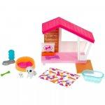 Set Barbie by Mattel Mobilier cu accesorii GRG78