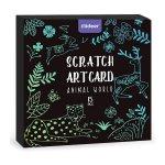 Set Scratch art Animal 15 piese Mideer MD4083
