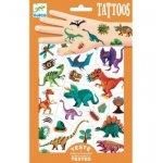 Tatuaje metalice Djeco Dinozauri