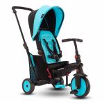 Tricicleta pliabila Smart Trike 6 in 1 STR3 Albastru dotata cu frana si scaun rabatabil