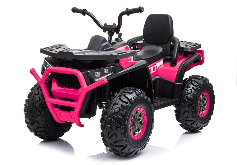 Atv electric Nichiduta Desert cu suspensii si pornire la cheie 12V Pink