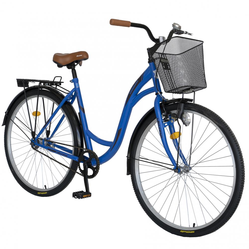 Bicicleta City 28 inch Velors Ukraina CSV2894F albastru negru - 1