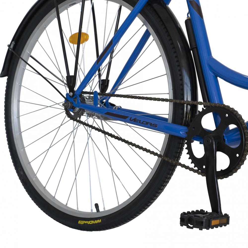 Bicicleta City 28 inch Velors Ukraina CSV2894F albastru negru - 2