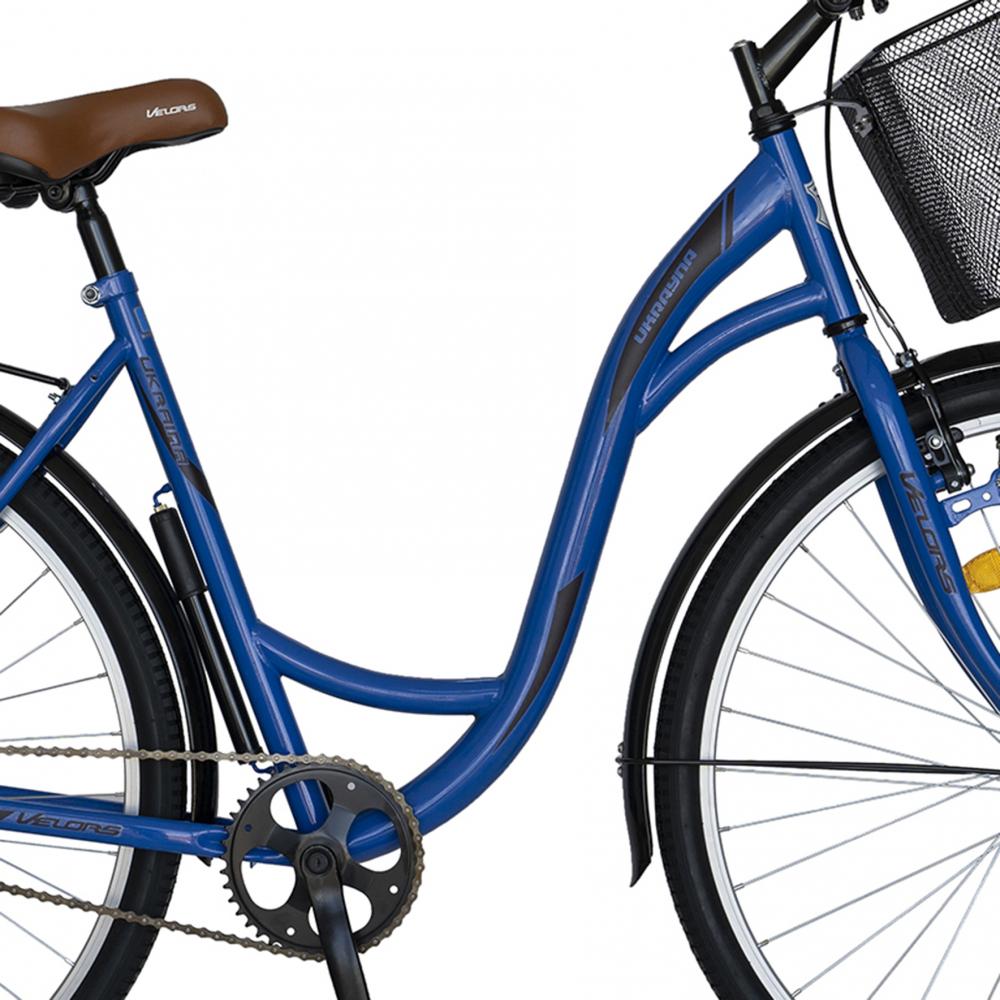 Bicicleta City 28 inch Velors Ukraina CSV2894F albastru negru - 4