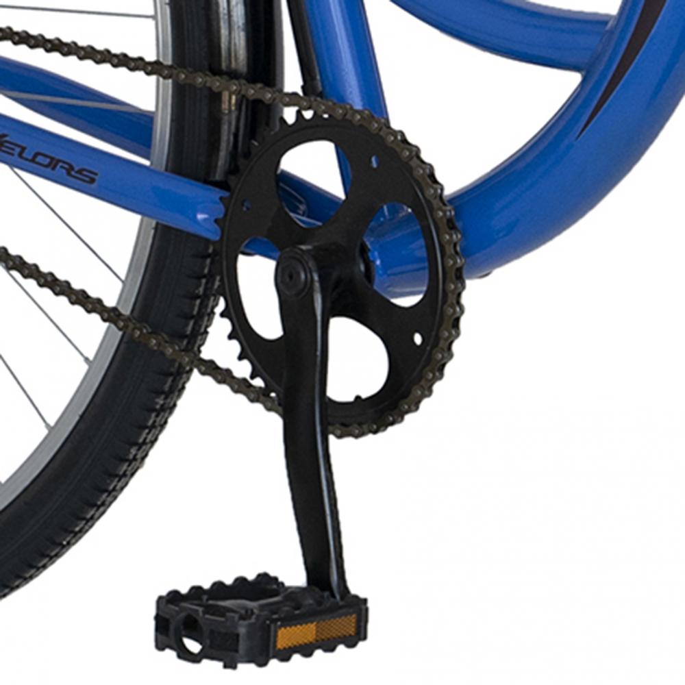 Bicicleta City 28 inch Velors Ukraina CSV2894F albastru negru - 5
