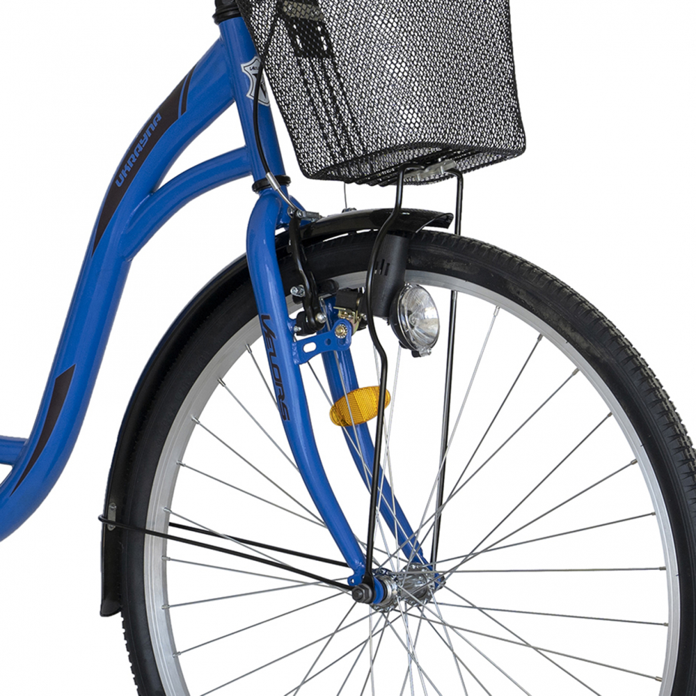 Bicicleta City 28 inch Velors Ukraina CSV2894F albastru negru - 6