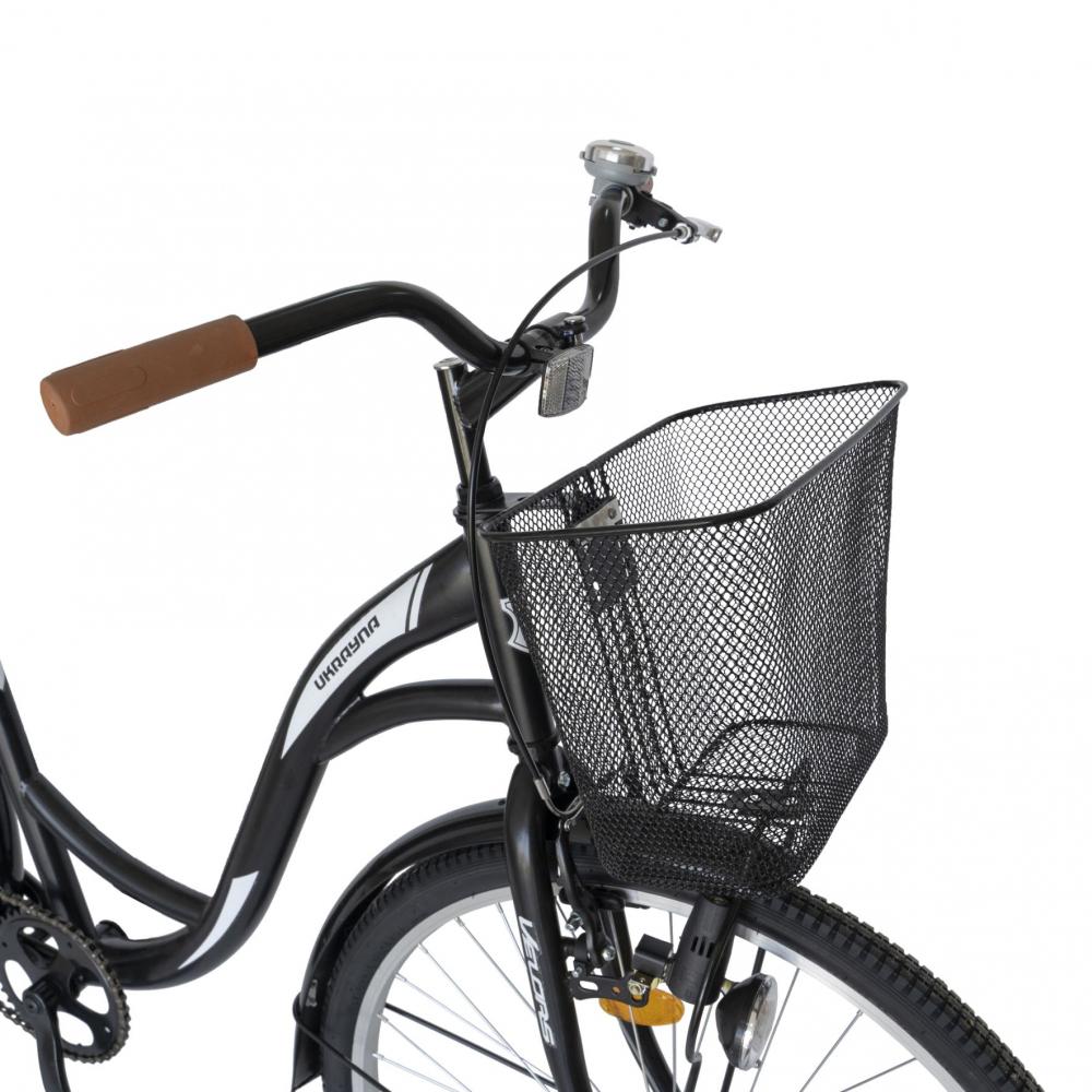 Bicicleta City 28 inch Velors Ukraina CSV2894F negru alb - 2