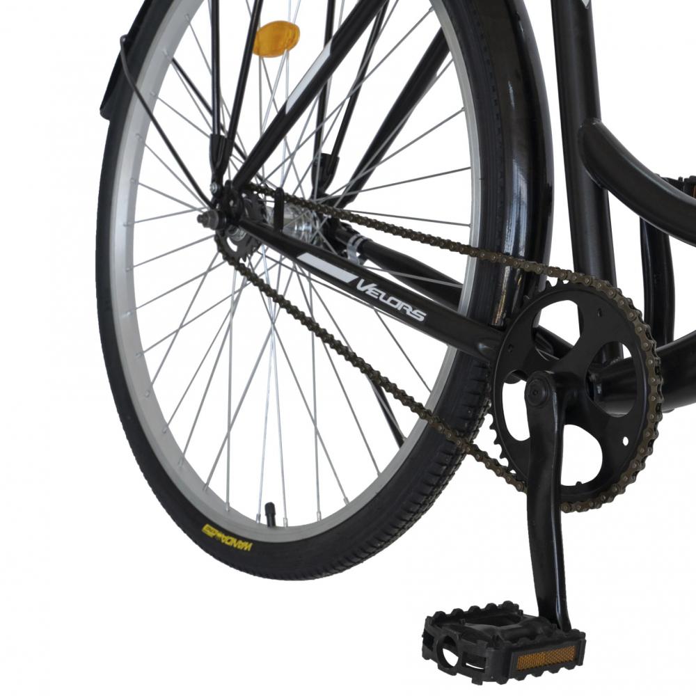 Bicicleta City 28 inch Velors Ukraina CSV2894F negru alb - 4