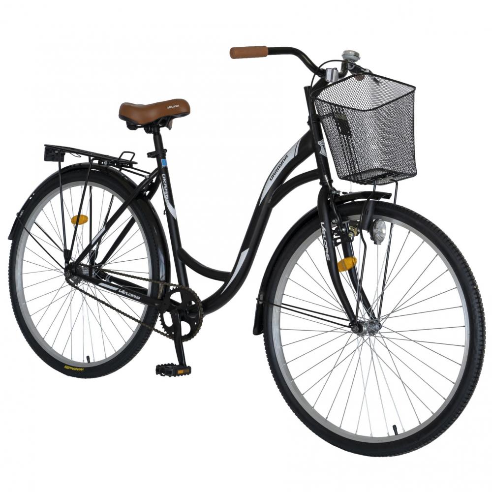 Bicicleta City 28 inch Velors Ukraina CSV2894F negru alb - 5