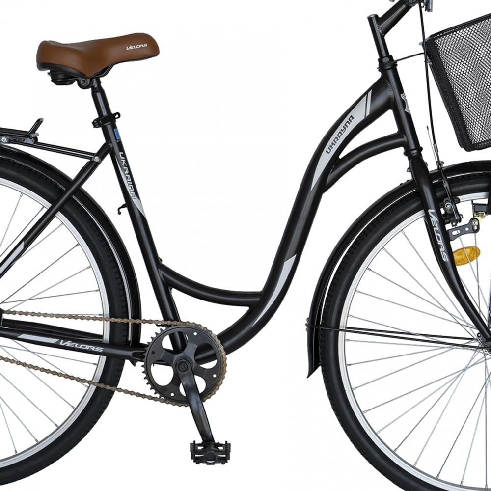 Bicicleta City 28 inch Velors Ukraina CSV2894F negru alb - 6