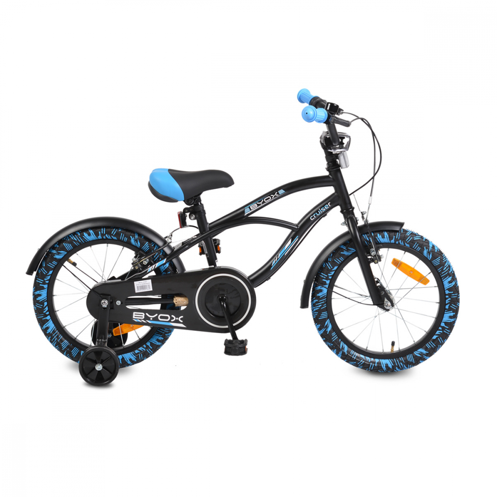 Bicicleta copii 16 inch Byox Cruiser Blue