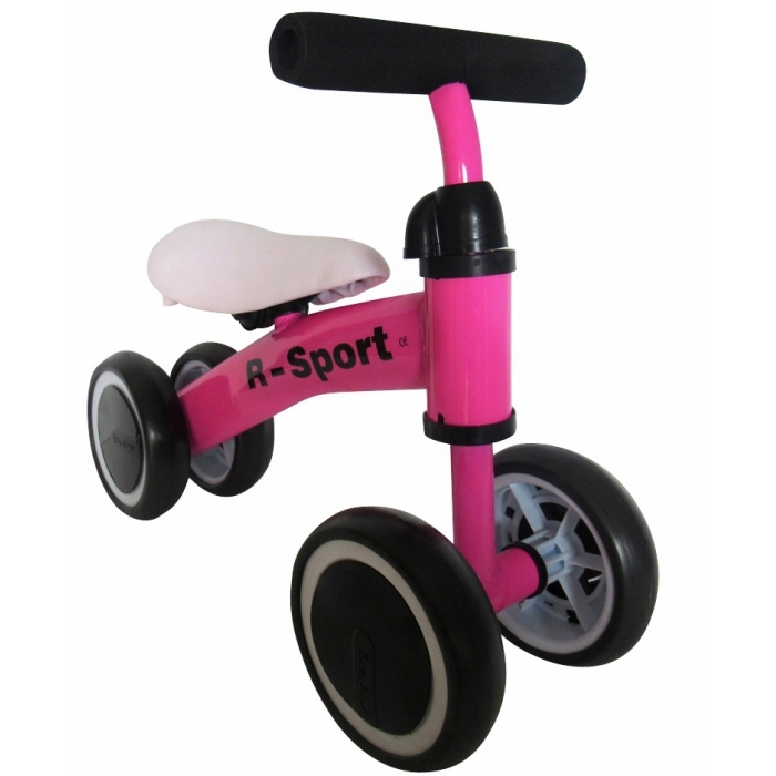 Bicicleta fara pedale R-Sport R11 Roz
