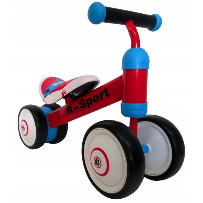 Bicicleta fara pedale R-Sport R12 Rosu - 2