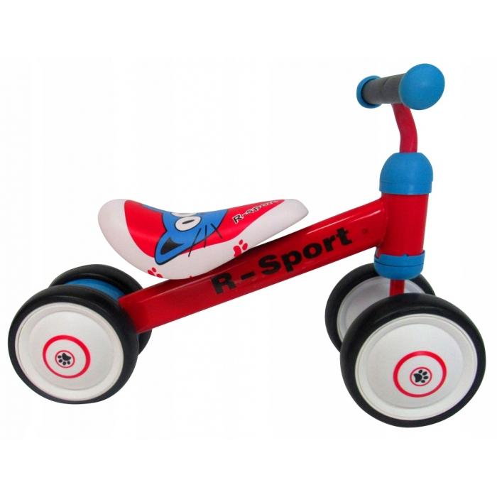 Bicicleta fara pedale R-Sport R12 Rosu