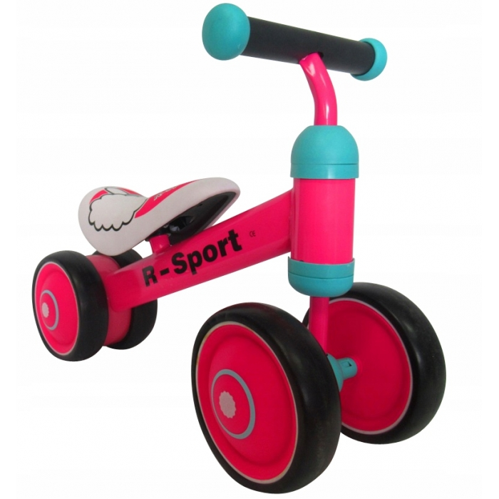 Bicicleta fara pedale R-Sport R12 Roz - 2
