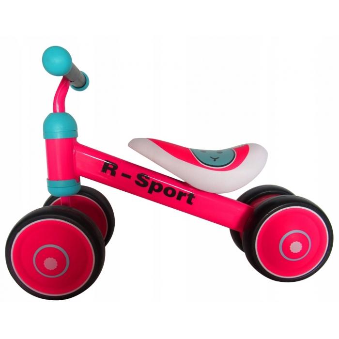 Bicicleta fara pedale R-Sport R12 Roz