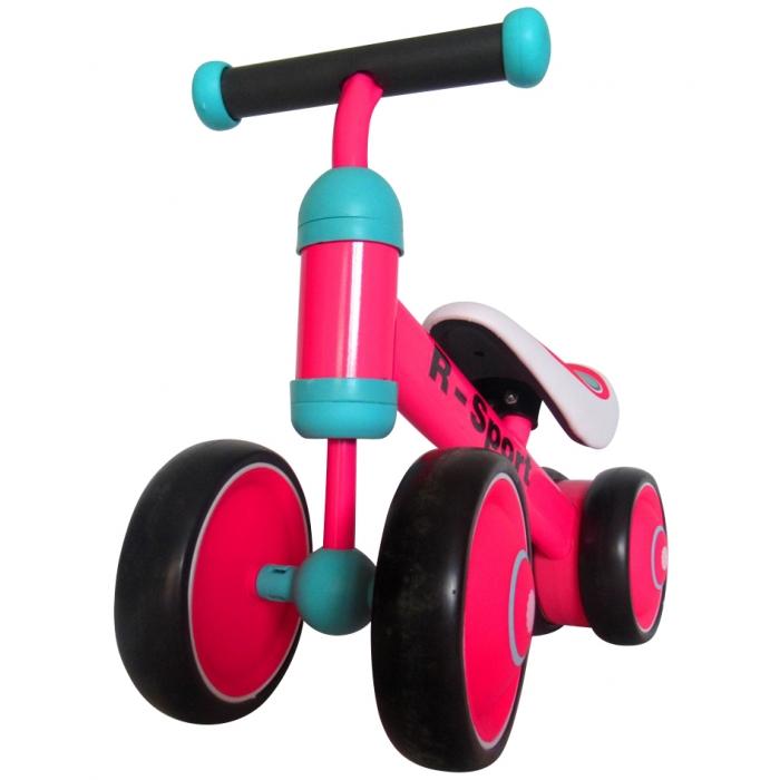 Bicicleta fara pedale R-Sport R12 Roz - 1