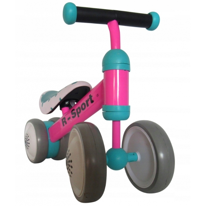 Bicicleta fara pedale R-Sport R14 Roz