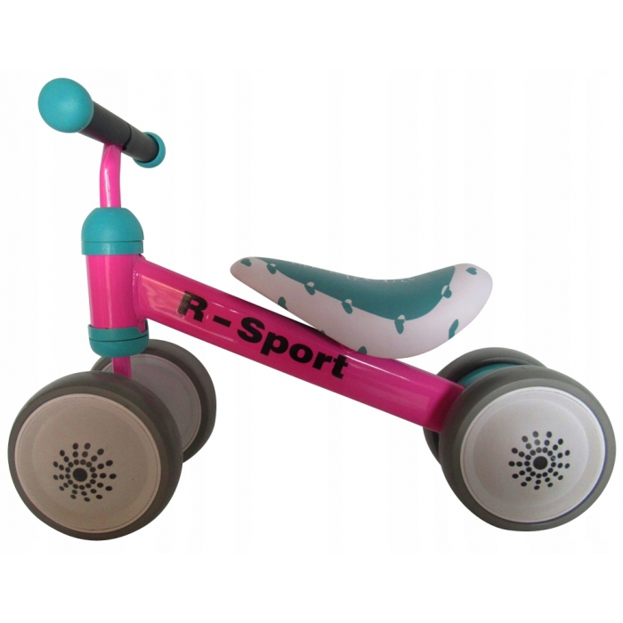 Bicicleta fara pedale R-Sport R14 Roz - 1