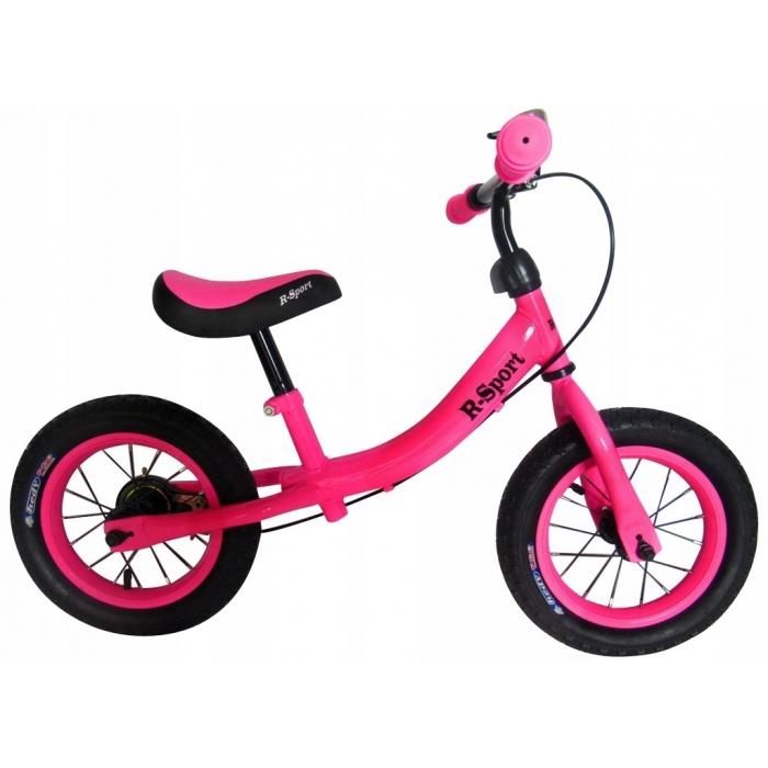 Bicicleta fara pedale R-Sport R3 roz - 1