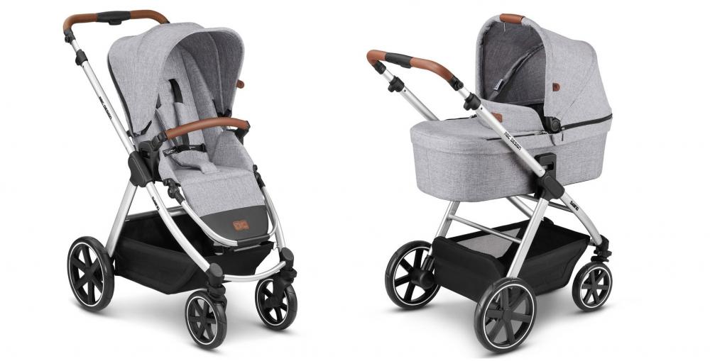 Carucior Swing 2 in 1 graphite grey ABC Design 2021