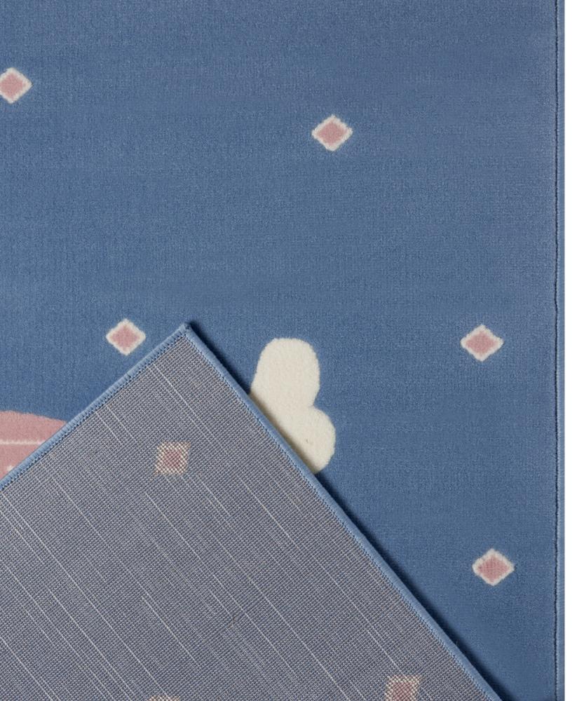 Covor copii tineret Adventures albastru 160x220 - 1