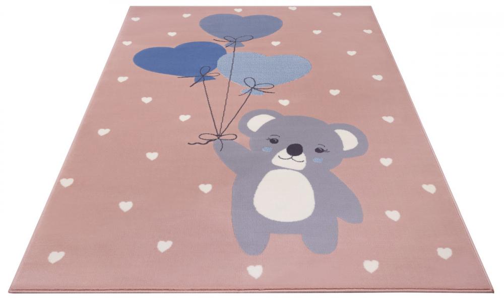 Covor copii tineret Adventures roz 160x220 - 2
