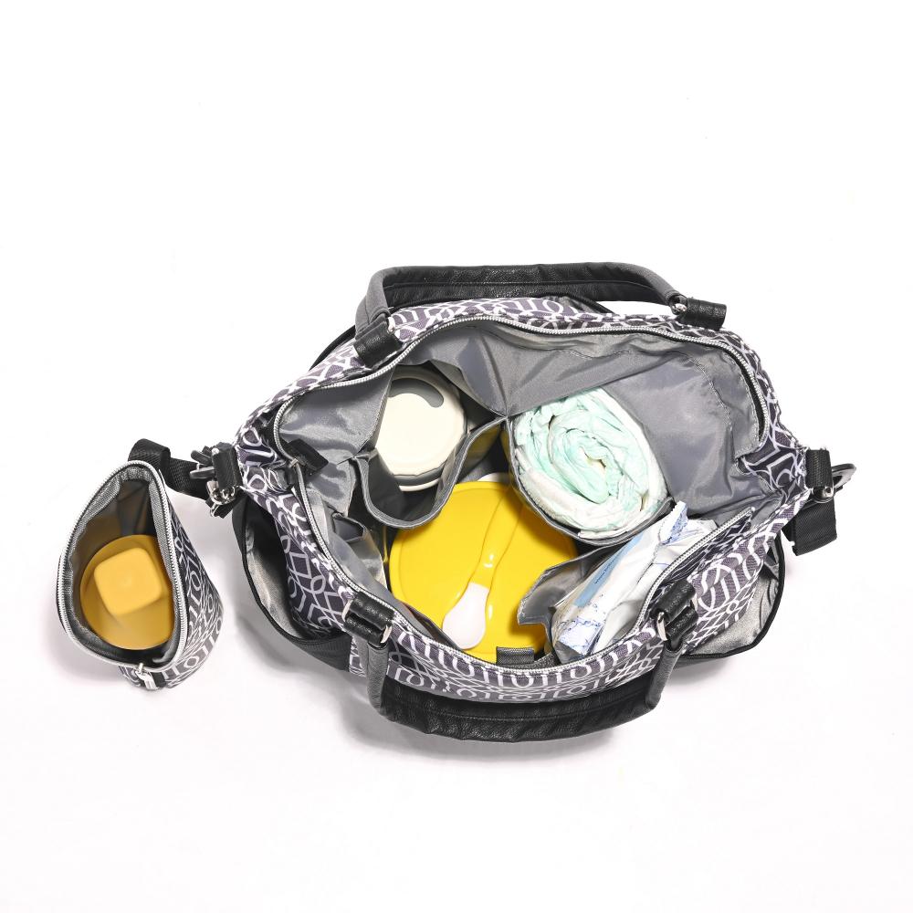 Geanta accesorii bebelusi compartimentata Laura Black
