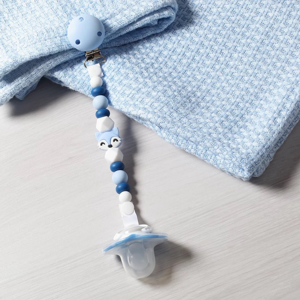 Lant pentru suzeta Baby Ono din silicon cu clips Natural Nursing 03