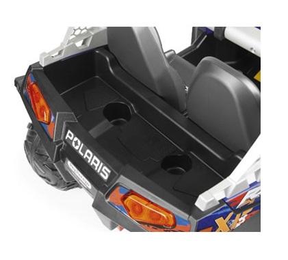 Masina electrica Peg Perego Polaris Ranger Rzr 900 XP 24V 3 ani + albastru - negru - 3