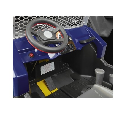 Masina electrica Peg Perego Polaris Ranger Rzr 900 XP 24V 3 ani + albastru - negru - 4
