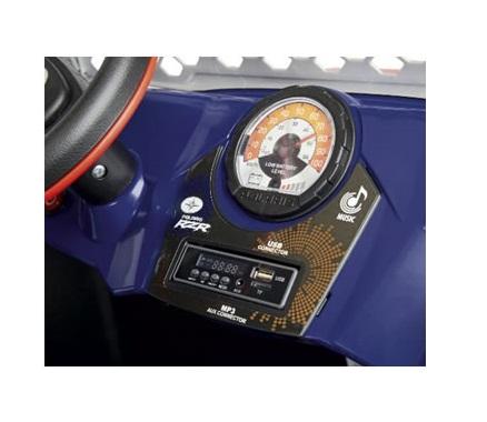 Masina electrica Peg Perego Polaris Ranger Rzr 900 XP 24V 3 ani + albastru - negru - 6